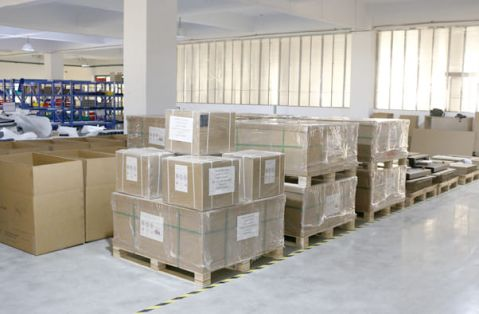 waiting area for shipping