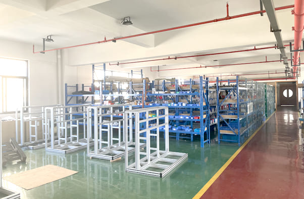 warehouse of roll label cutter parts