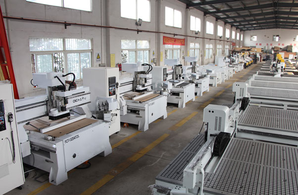 Workshop of CNC Router