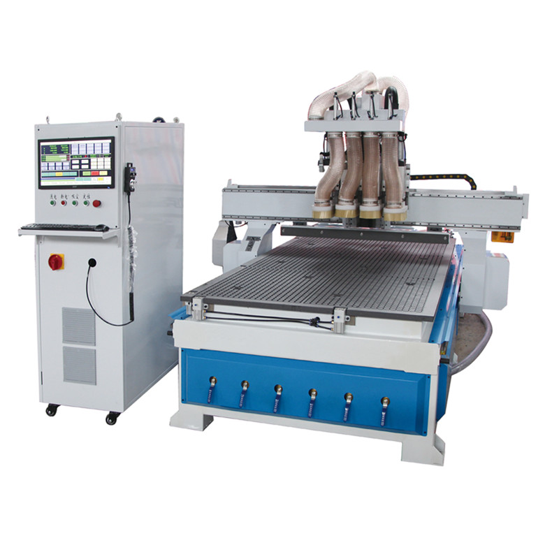 Wood Working CNC Router /Auto Spindle Changer