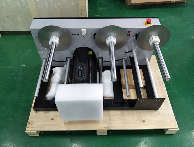 package of roll cutting machine