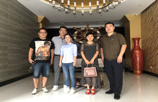 Korean Customer Visit Our Factory!